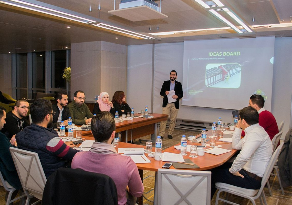 Algedra Reviewing 2017 Plan in Istanbul office