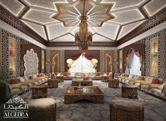 Moroccan Majlis Design