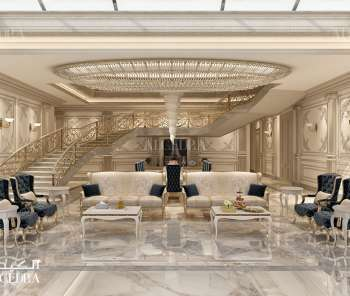 Villa design in Abu Dhabi