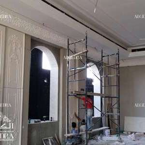 ongoing palace interior work Algedra