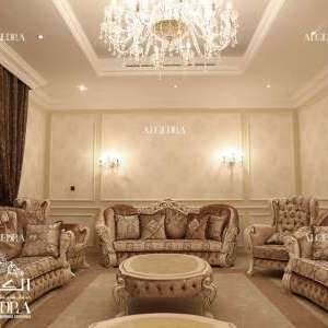 Family Room Villa Design Abu Dhabi