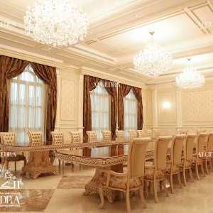 Dining Room Design for Villa