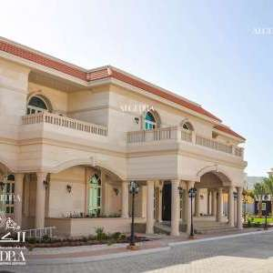 Villas Exterior Designs in Abu Dhabi