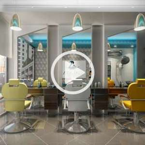 Gents Salon Video Design