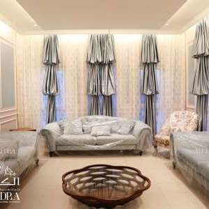 Family hall Design for Villa