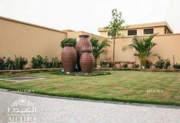 التصميم الخارجي للمنزل في دبي