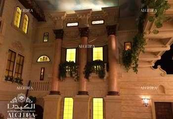 تصميم بنتهاوس فخم في مارينا دبي