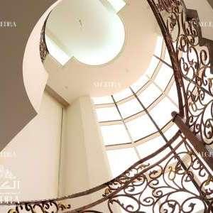 Sharjah luxury palace stairs