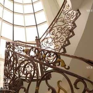 Sharjah luxury palace stairs 2