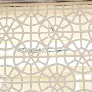 Sharjah luxury palace window