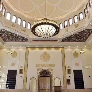 beautiful mosque interior