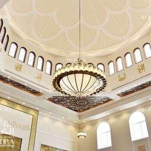 تصاميم داخلية للمساجد