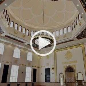 abu dhabi palace interior video