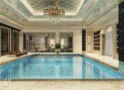 Pool interior design