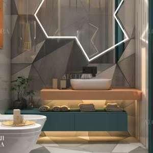 تصميم بلاط الحمام الصغير