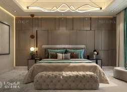 sade yatak odası tasarımı