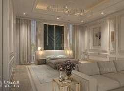 lüks yatak odası iç tasarımı