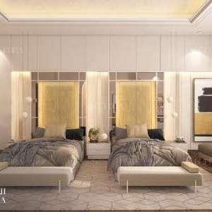 iki yataklı yatak odası tasarımı