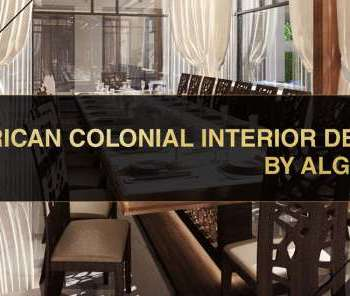 Colonial Style Interior design