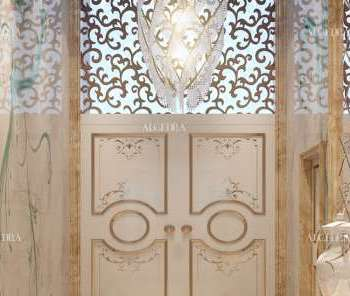 Art Nouveau Style in interior design by ALGEDRA
