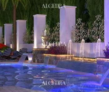 Modern Pool Designs Dubai