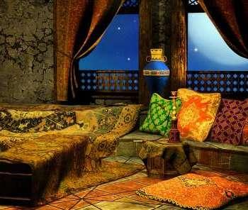 Arabian Style Living Room