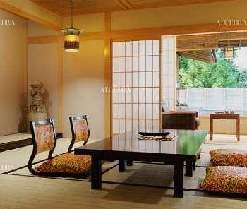 النمط الياباني في التصميم الداخلي من قبل الكيدرا
