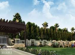 Villa Boundary Design