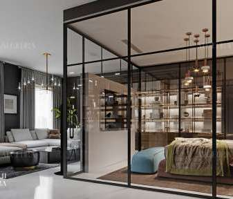The charm of glass doors in interior design