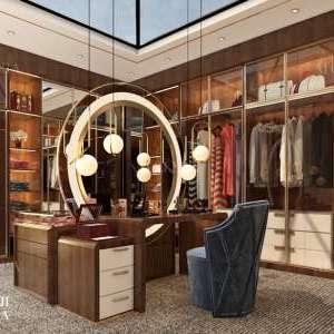 تصميم غرفة الملابس