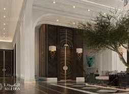 entrance design for flats
