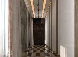 apartment entrance decor