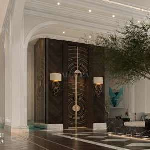 تصميم مدخل للشقق