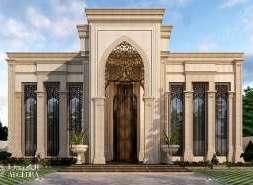 designing villa exterior