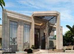 contemporay vill exterior design