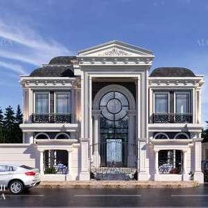villa exterior design in turkey