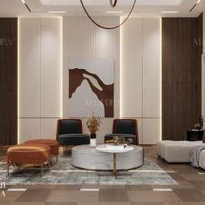 تصميم غرفة المعيشة الحديثة