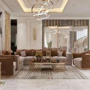 تصميم غرفة جلوس الأسرة