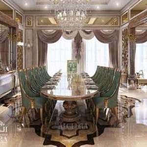 classic dinning room interior