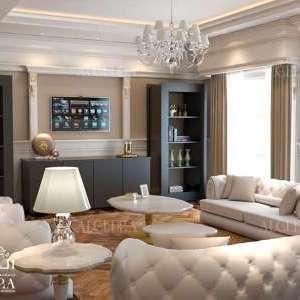 Family sitting interior design