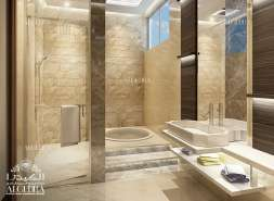 Big & Luxury Bathroom for Villa
