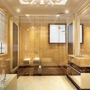 Luxury Gold Bathroom Design Ideas