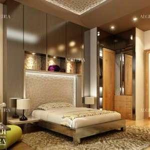 تصميم داخلي لغرف نوم صغيرة