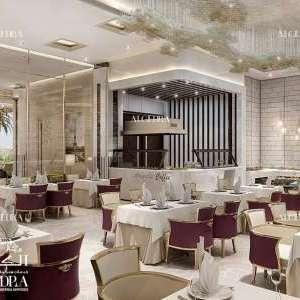 أن تصميم المطاعم في الكيدرا للتصميم الداخلي