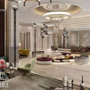 Luxury cafes interior design in ALGEDRA
