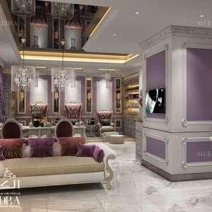 salon interior design Dubai