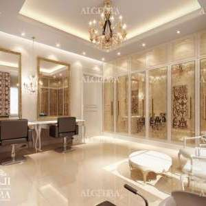 Luxury interior design for showroom