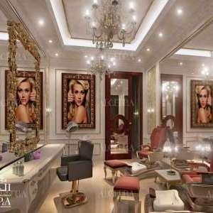 beauty saloon interior
