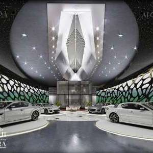luxury car showroom design