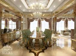 Dining Room Decoration for Villa